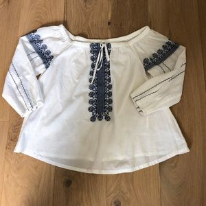 Off the shoulder Madewell